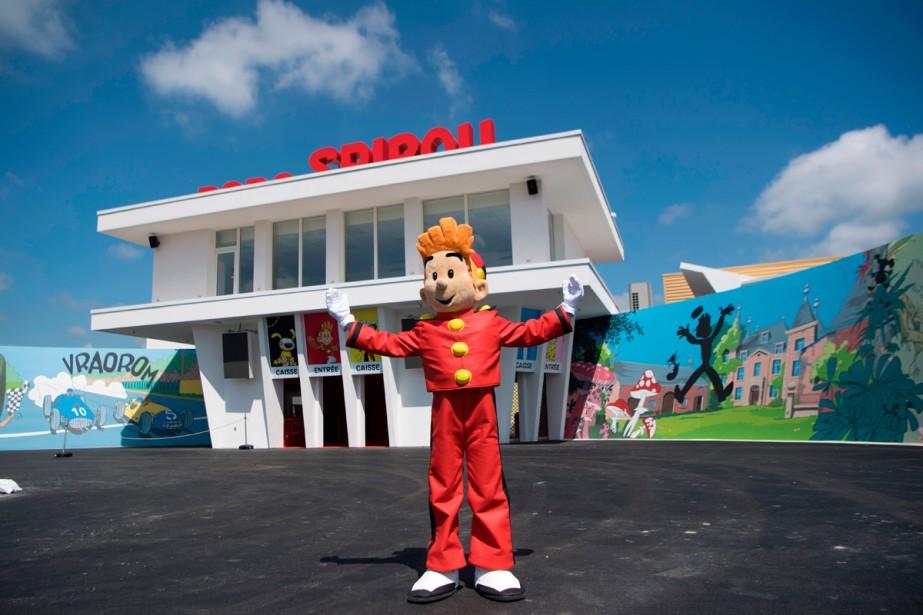 Le Parc Spirou conçu autour d'attractions mettant en... (Photo AFP)