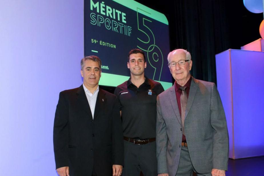 Michel Poissant, Olivier Gouin et Pierre Gervais. | 1 juin 2018