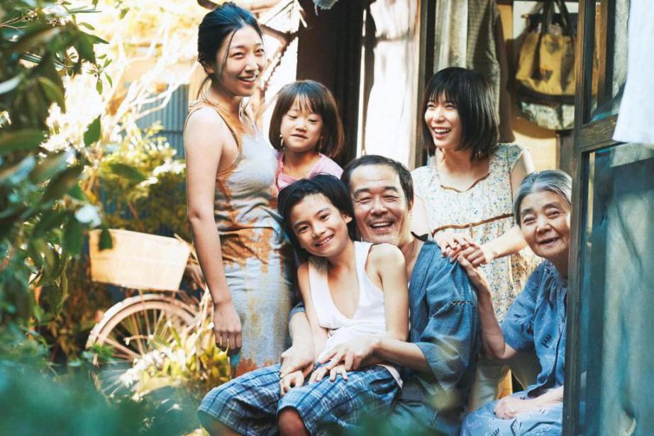 Une affaire de famille d'Hirokazu Kore-eda a obtenu... (Photofournie par leFestival de Cannes)