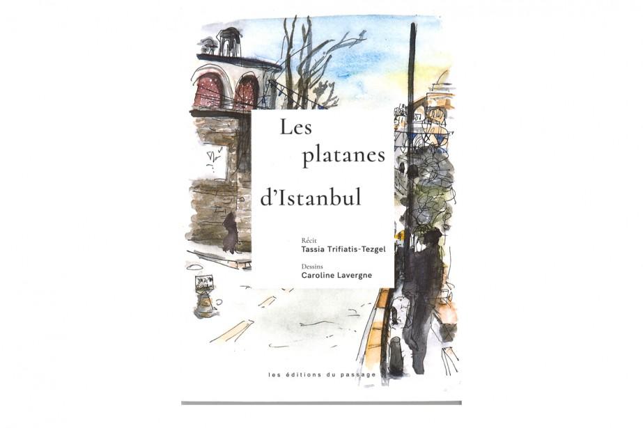 Les Platanes d'Istanbul, deTassia Trifiatis-Tezgel... (Image tirée du livre Les Platanes d'Istanbul)