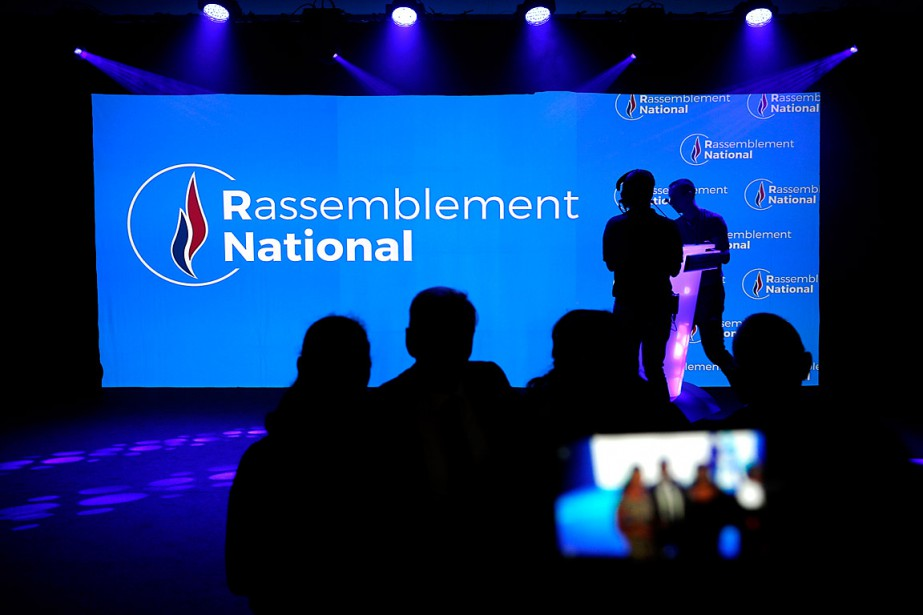Malgré le nouveau nom, la ligne du Rassemblement national... (PHOTO LAURENT CIPRIANI, ASSOCIATED PRESS)