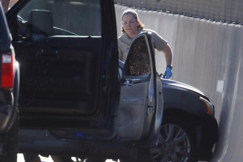 Le chauffeur aurait expliqué aux premiers témoins sur... (Photo David Zalubowski, Associated Press)