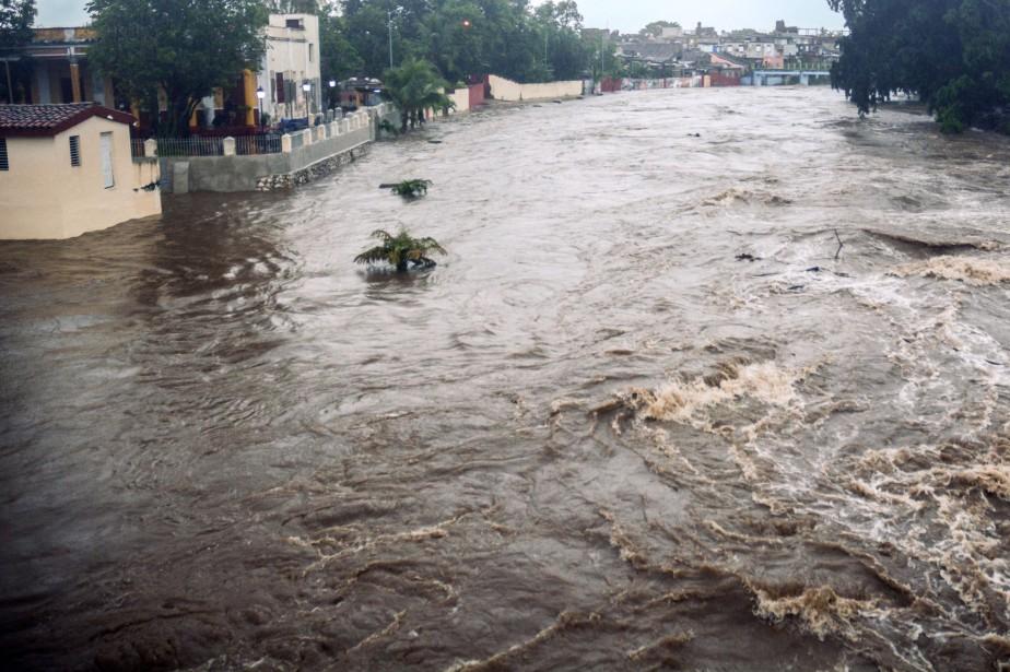 Cette tempête subtropicale qui s'était formée vendredi dans... (Photo Agence France-Presse/ACN/STR)