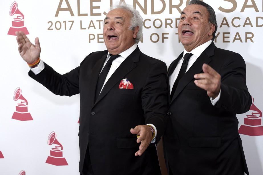 Antonio Romero Monge et Rafael Ruiz Perdigones du... (Photo Chris Pizzello, archives Invision/AP)