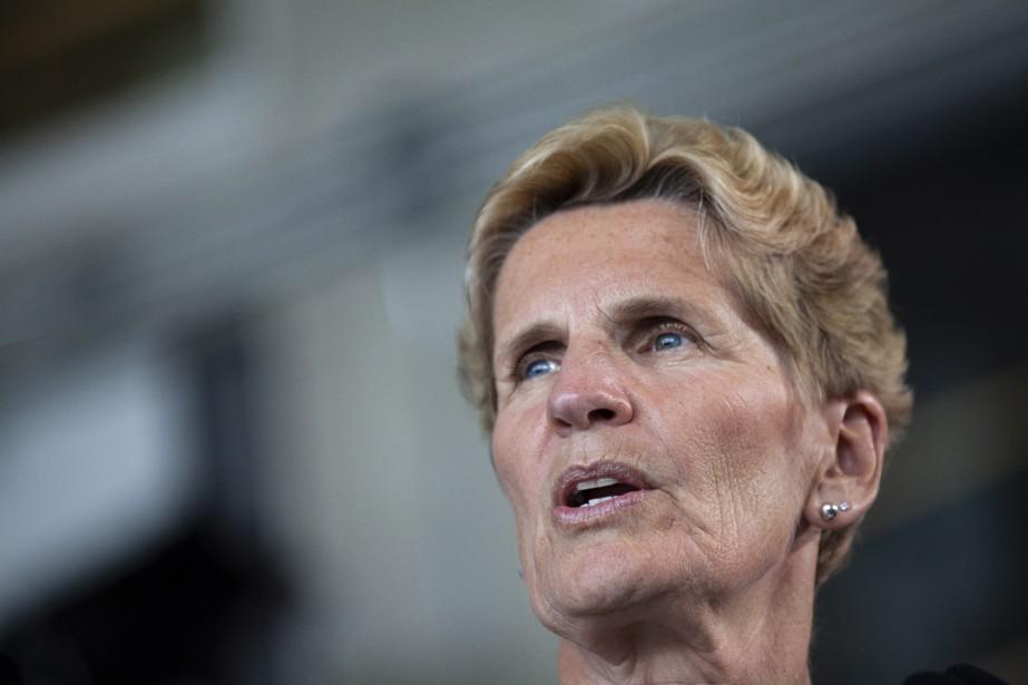 Kathleen Wynne... (Photo Andrew Ryan, La Presse canadienne)