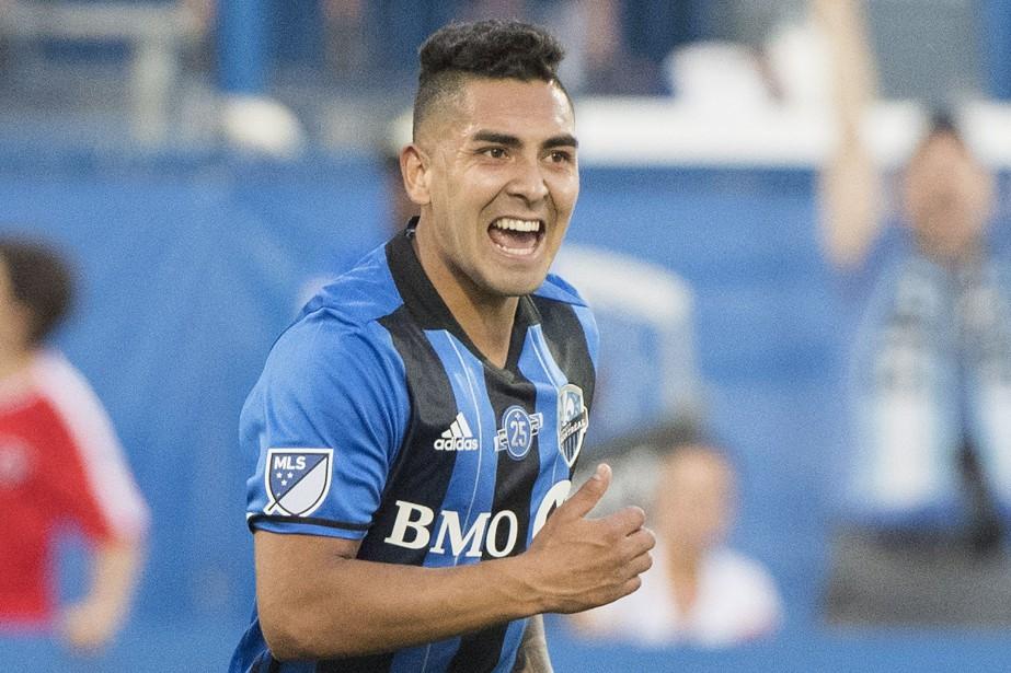 Jeisson Vargas a inscrit le seul but de... (PHOTO Graham Hughes, LA PRESSE CANADIENNE)