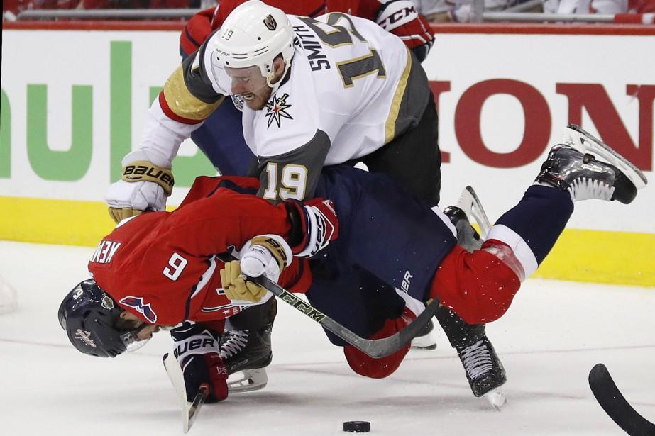 Lors des deux derniers matchs, les Golden Knights... (PHOTO AP)