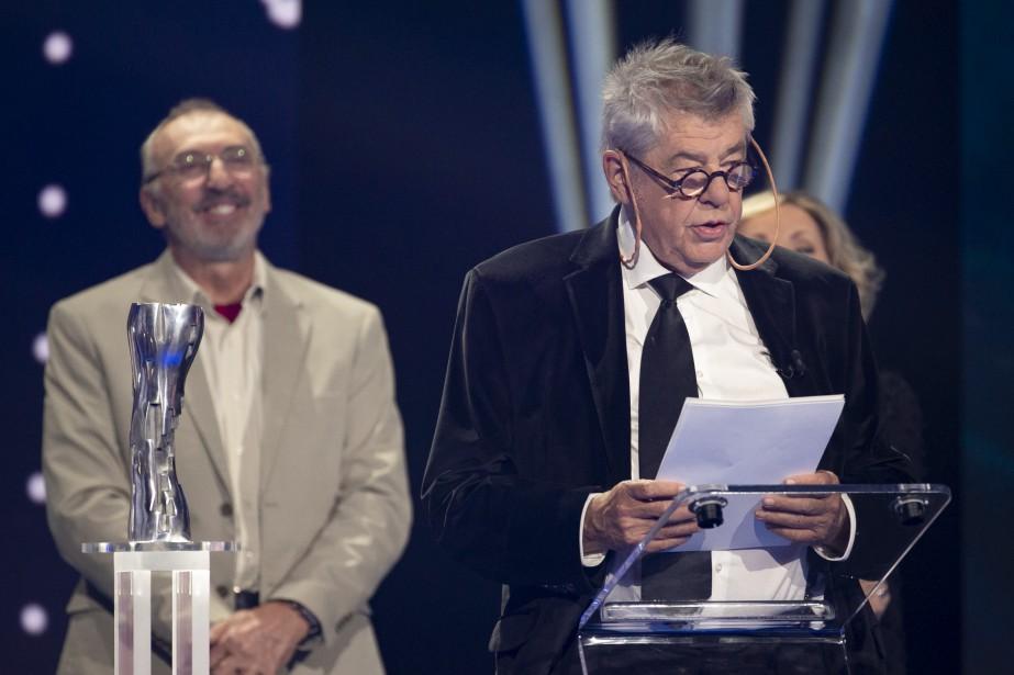 L'Iris Hommage a été décerné au cinéaste André Forcier. (PHOTO : DAVID BOILY, LA PRESSE)