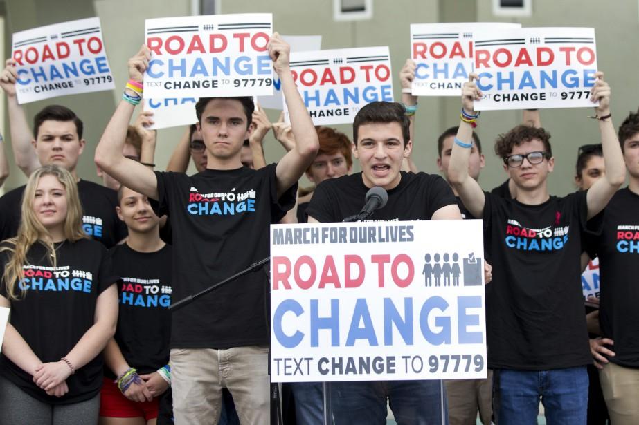 La tournée nationale, intitulée «Route vers le changement»... (Photo Wilfredo Lee, Associated Press)