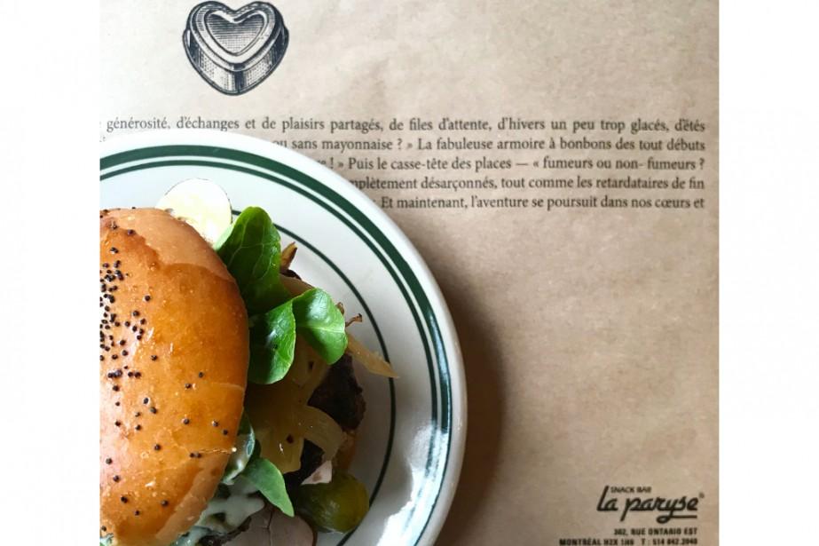 Les délicieux burgers de La Paryse revivront l'espace... (Photo fournie par le Butterblume)