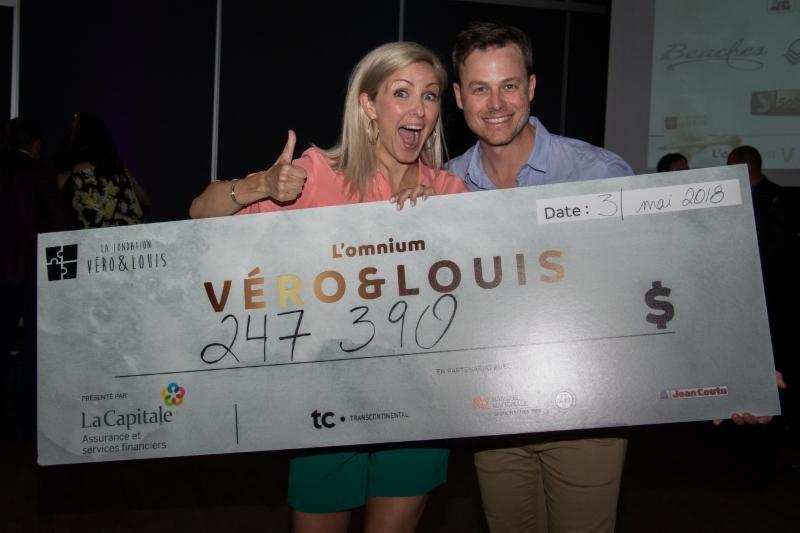 Véronique Cloutier et Louis Morissette.... (Photo fournie par la Fondation)