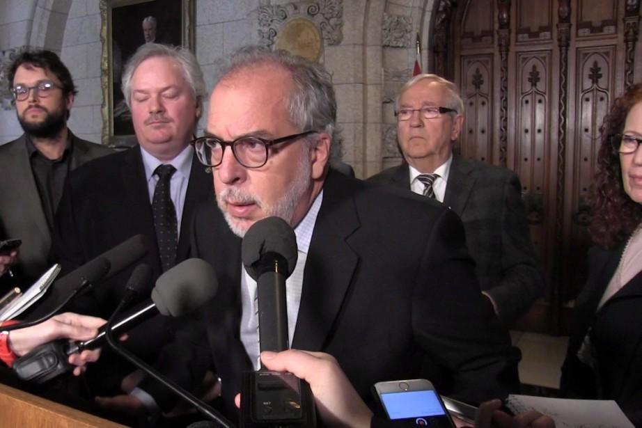 Le porte-parole des sept ex-députés du Bloc québécois,... (Photo archives PC)