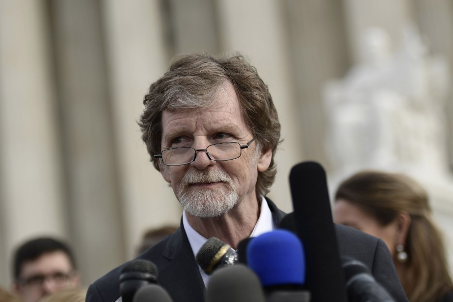 Jack Phillips lors d'un point de presse devant... (ARCHIVES AFP)