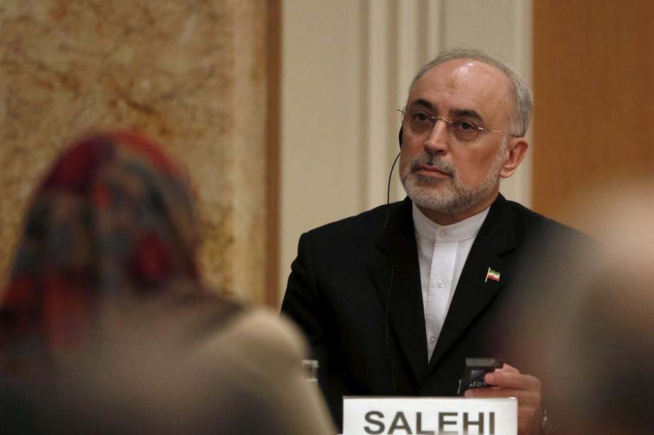 Le vice-président iranien Ali Akbar Salehi.... (REUTERS)
