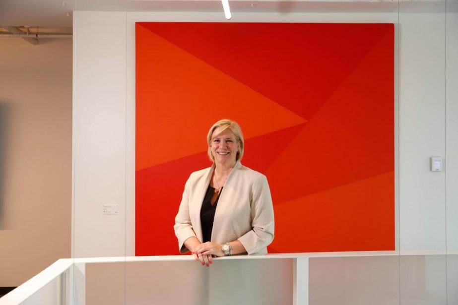 Nathalie Bernier, première vice-présidente, planification stratégique et d'affaires,... (Photo Martin Chamberland, Archives La Presse)
