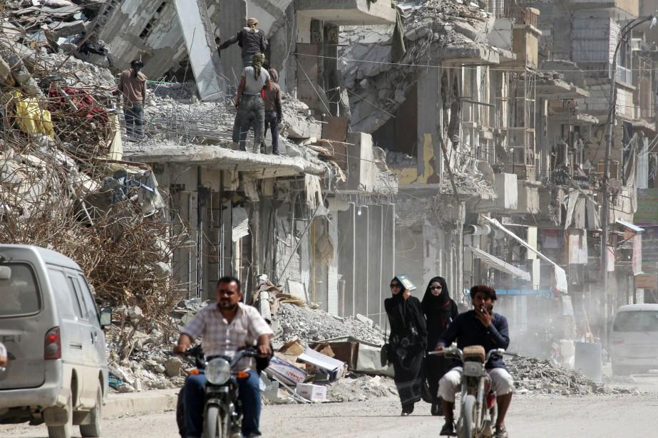 Après des offensives distinctes du régime et de... (REUTERS)