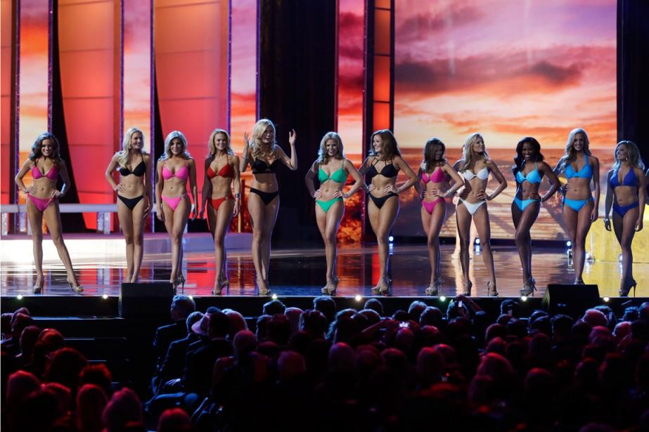 Fini les maillots à Miss America.... (PHOTO AP)