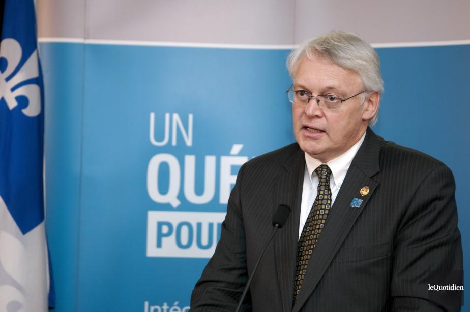 Gaétan Lelièvre, ex-ministre délégué aux régions sous le... (Photo archives Le Quotidien)