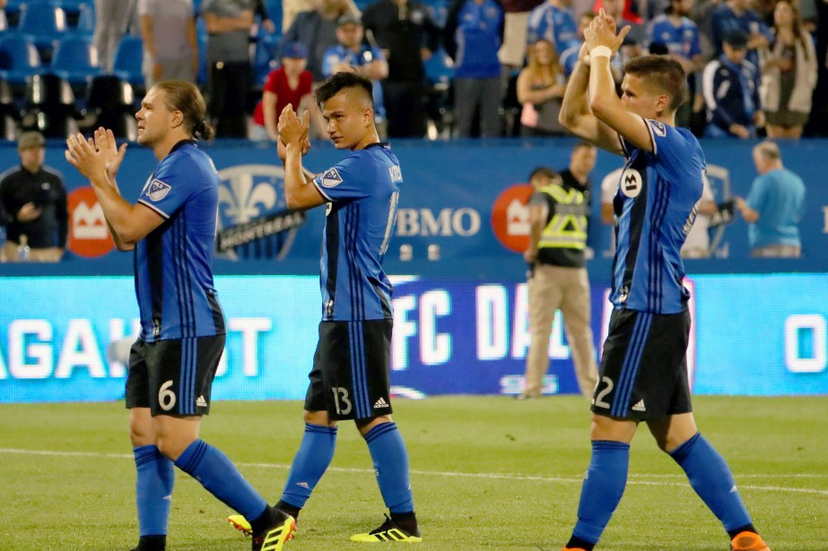 L'Impact a mis fin à une série de quatre... (Photo Jean-Yves Ahern, USA Today Sports)