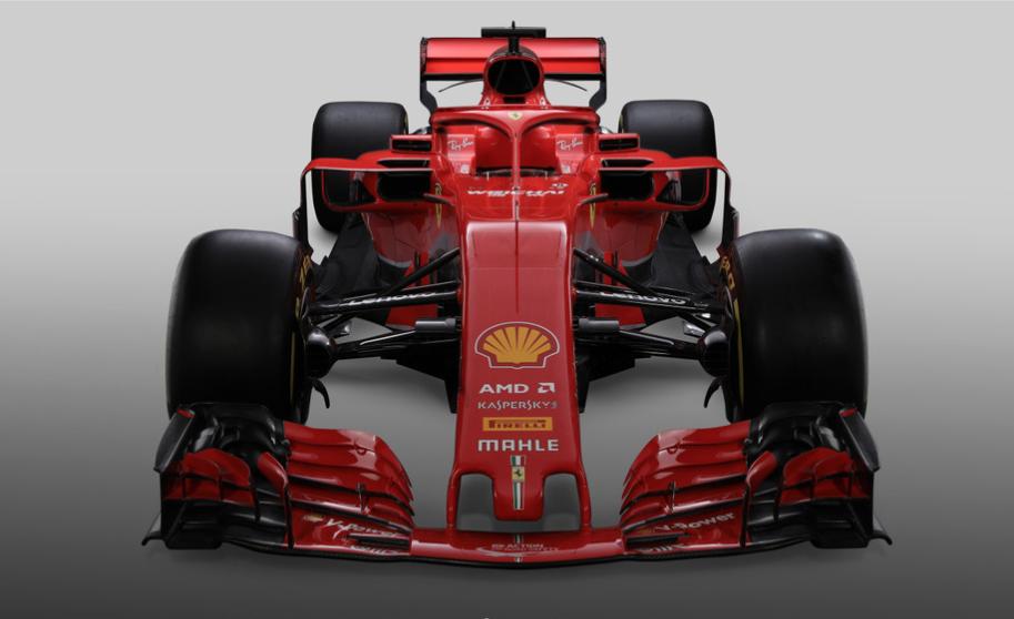 Ferrari SF71H - AÉRODYNAMISME - Utilisation de tous les éléments de la carrosserie et même du châssis pour maximiser l'adhérence.Toutes les équipes travaillent en soufflerie pour maximiser la forme des voitures. Chaque élément de la Ferrari SF71H contribue à canaliser l'air qui l'entoure exactement là où les ingénieurs le souhaitent. | 5 juin 2018