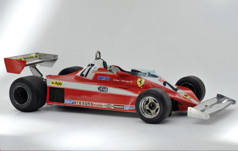 Ferrari 312 T3 -  DIMENSIONS - Longueur:4250 mmLargeur:2130 mmHauteur:1010 mmPoids:578kg | 5 juin 2018
