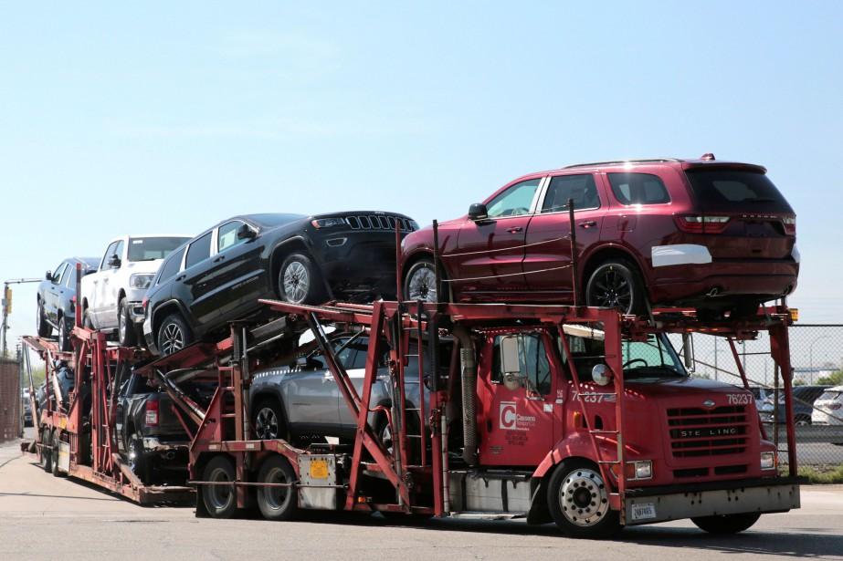 Les rappels touchent plusieurs modèles des marques Chrysler,... (photo REUTERS)