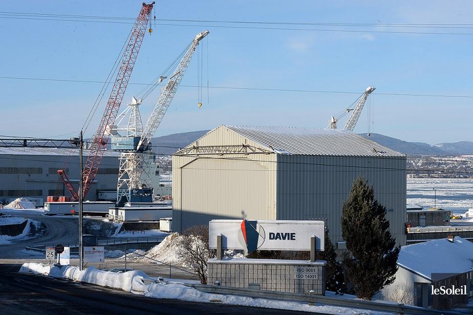 Le chantier naval Davie.... (Erick Labbé, archives Le Soleil)