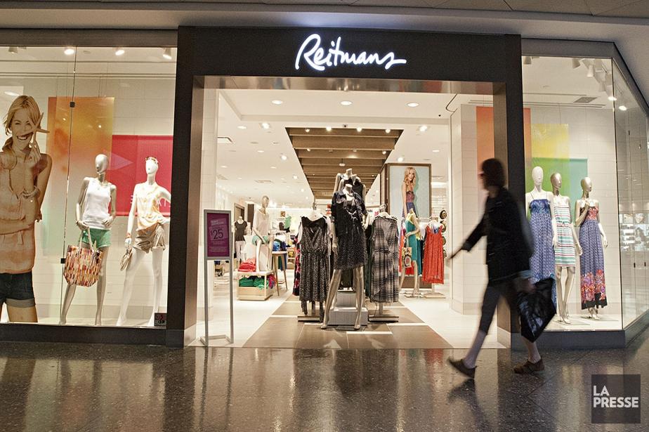 Les ventes de Reitmans sont demeurées à peu... (Anne Gauthier, archives La Presse)