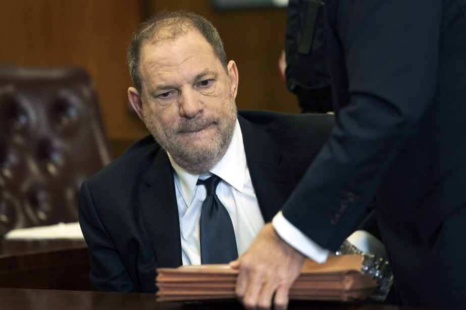 «Non coupable», a répondu Harvey Weinstein d'une voix à... (PHOTO AP)