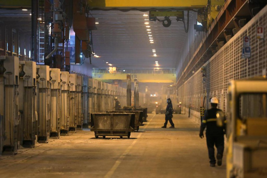 90% des alumineries canadiennes se trouvent au Québec,... (PHOTO MARTIN CHAMBERLAND, ARCHIVES LA PRESSE)