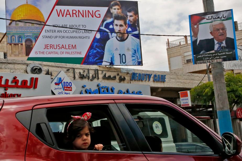 Ces derniers jours, les Palestiniens avaient demandé à... (PHOTO AFP)