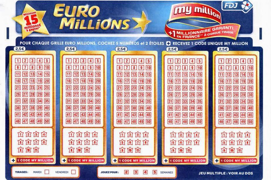L'Euro Million est une loterie proposée dans douze... (ARCHIVES AFP)