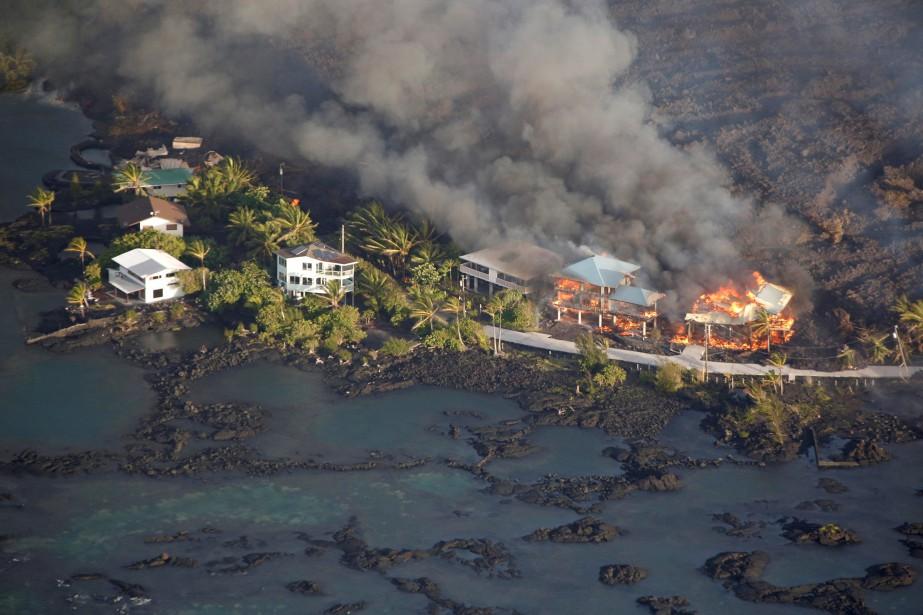 «Nous avons perdu des centaines de maisons à... (REUTERS)