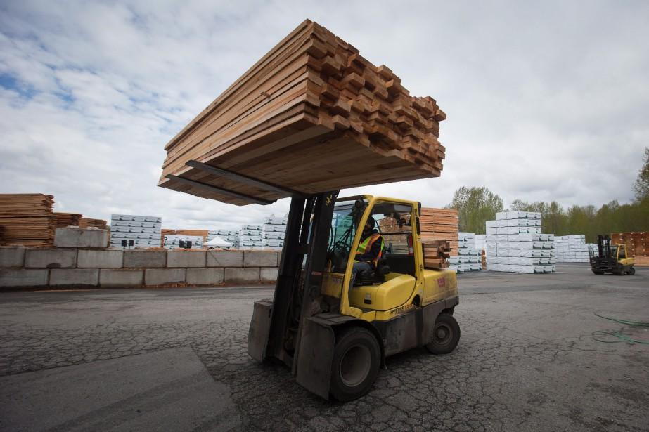 Les importations en provenance des États-Unis ont reculé... (THE CANADIAN PRESS)
