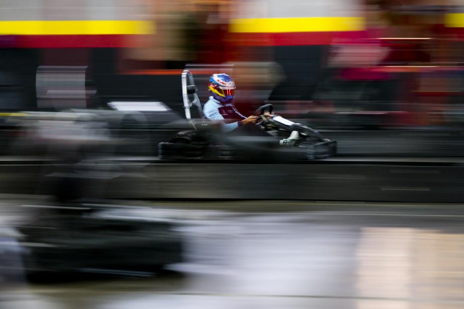 Lance Stroll file à vive allure sur les pistes du... | 2018-06-06 00:00:00.000