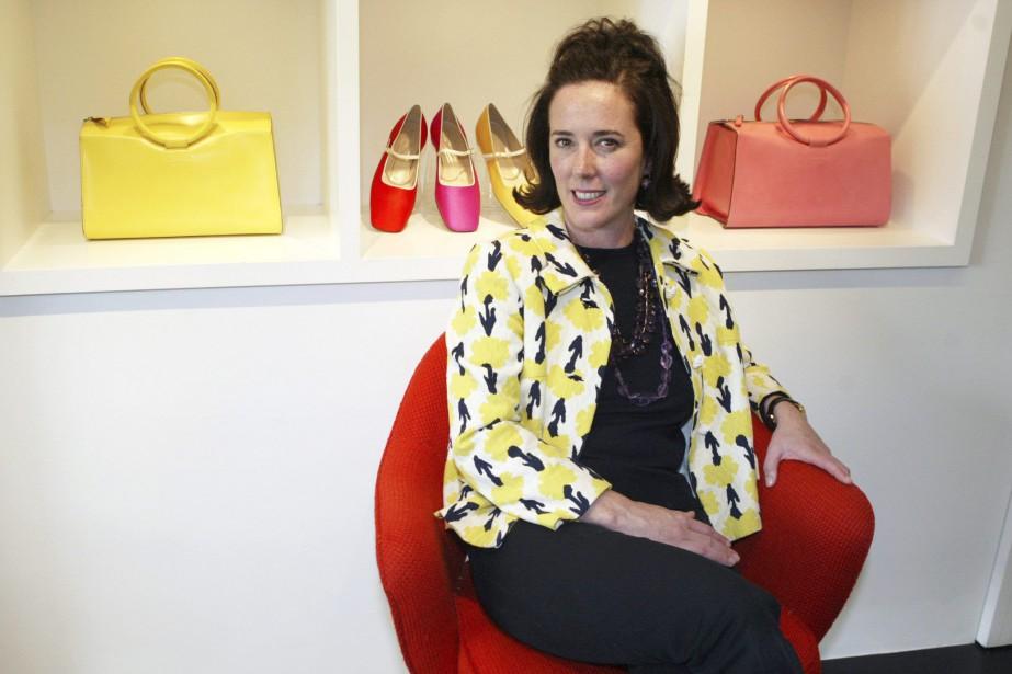 Spécialiste de l'accessoire, Kate Spade s'est fait connaître... (Photo Bebeto Matthews, archives Associated Press)
