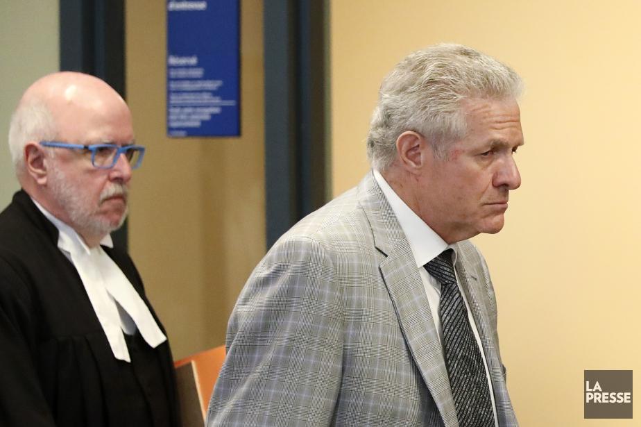 Tony Accurso et son avocat Marc Labelle... (Photo Robert Skinner, La Presse)
