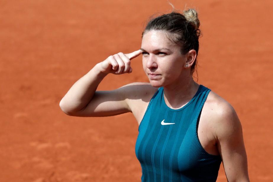 La numéro 1 mondiale Simona Halep a défait... (Photo Thomas Samson, AFP)