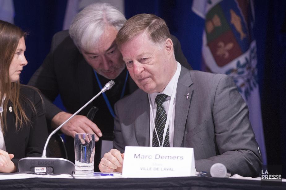 Le maire de Laval, Marc Demers.... (PHOTO PATRICK SANFAÇON, ARCHIVES LA PRESSE)
