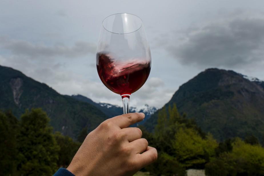 Les exportations de vins chiliens ont atteint 2 milliards de... (ARCHIVES AFP)