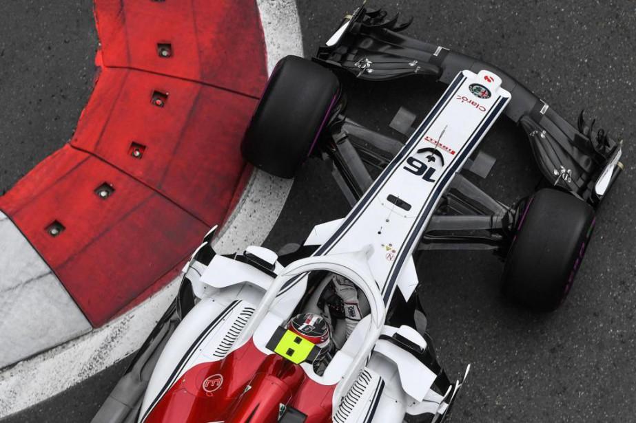 Charles Leclerc, de l'écurie Alfa Romeo Sauber... (photo AFP)