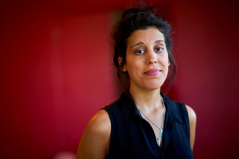 L'artiste multidisciplinaire Ines Talbi... (Photo AndréPichette, La Presse)