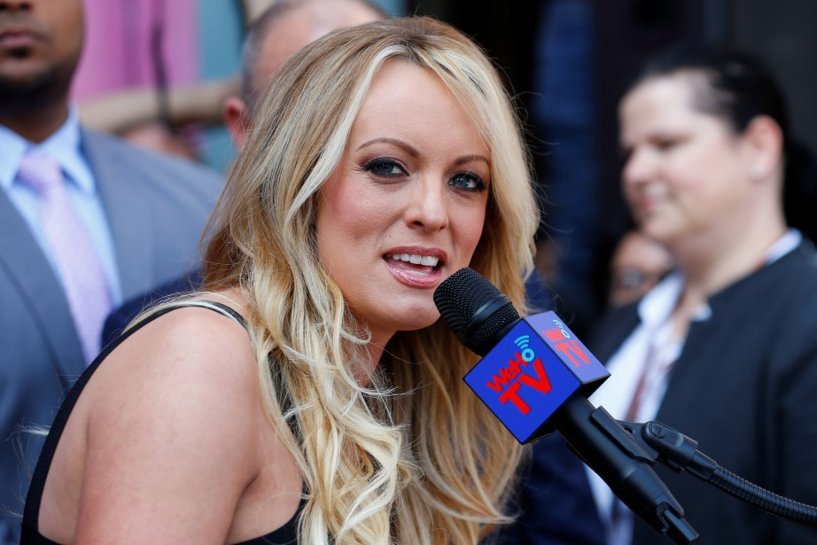 Stormy Daniels... (PHOTO REUTERS)