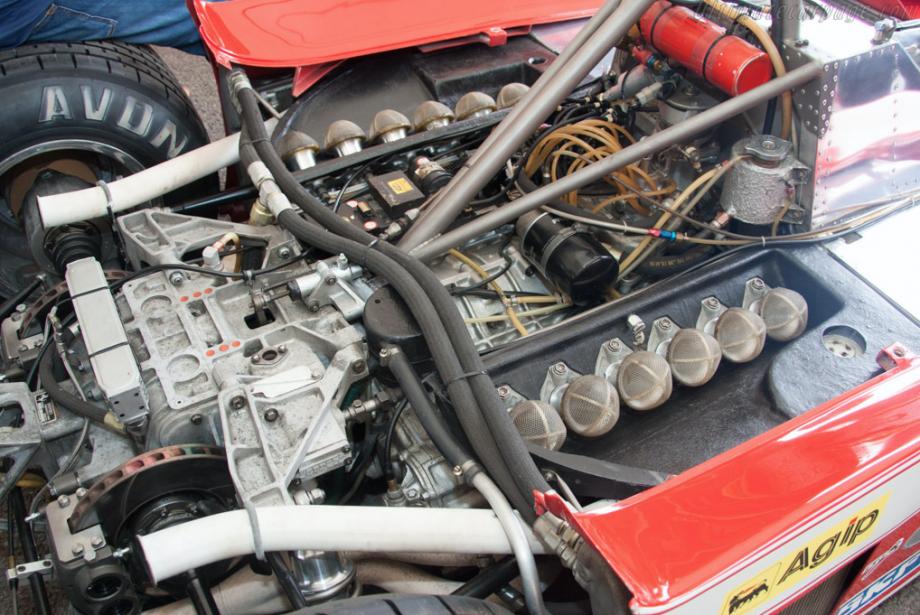 Ferrari 312 T3 - 1978 Puissance de 75kW (510ch) à 12200tr/minRenault avait réintroduit en 1976 les moteurs «turbo», plus puissants, mais aussi plus brusques; Ferrari s'est toutefois accroché à ses 12cylindres atmosphériques jusqu'au début des années80. | 7 juin 2018