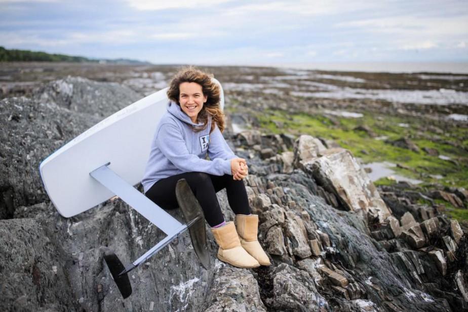 Championne canadienne de sa discipline, Catherine Dufour, 31ans,a... (Photo Edouard Plante-Fréchette, La Presse)