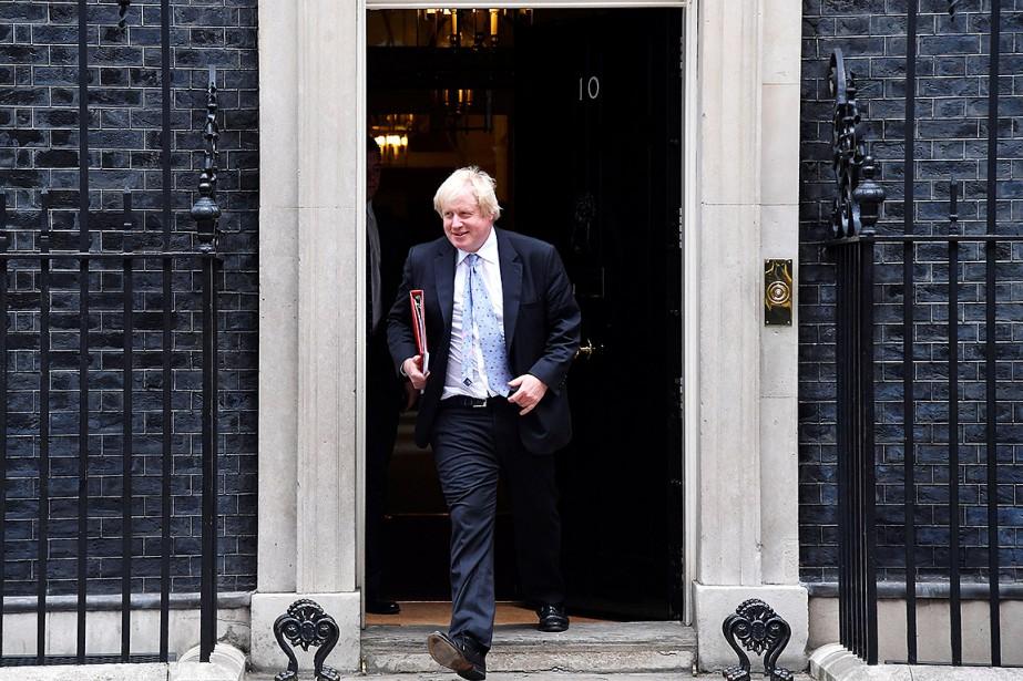 Le ministre britannique des Affaires étrangères Boris Johnson... (Toby Melville, REUTERS)