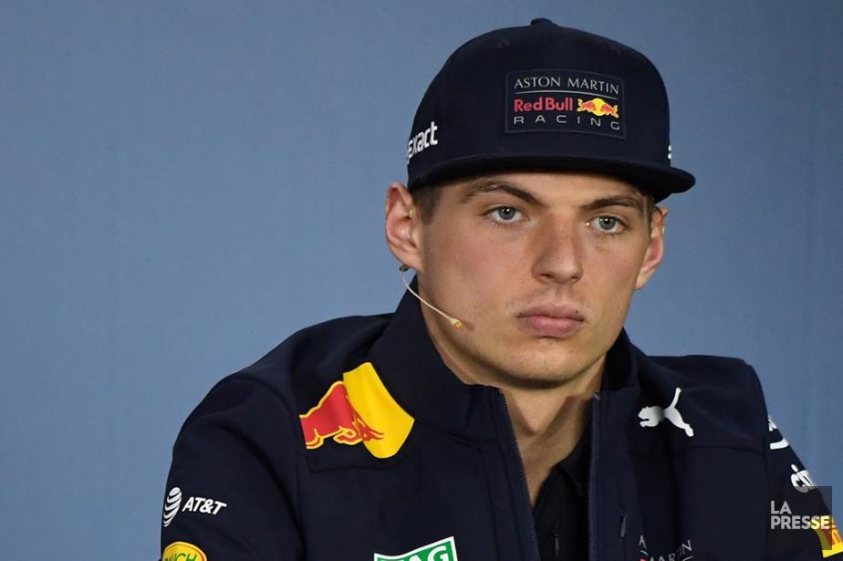 Max Verstappen a connu sa part d'accidents en... (Photo Bernard Brault, La Presse)