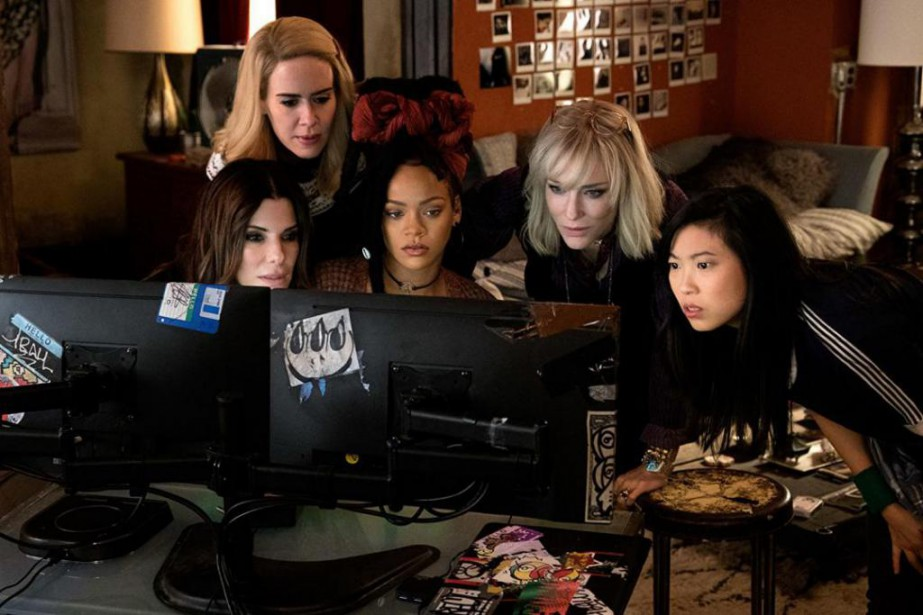Sandra Bullock, Sarah Paulson, Cate Blanchett, Rihanna, et... (PHOTO FOURNIE PAR LA PRODUCTION)