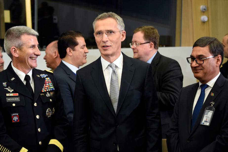 Le commandant des Forces américaines et de l'OTAN... (Photo John Thys, Agence France-Presse)