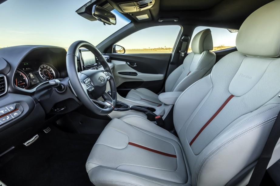 Hyundai Veloster Turbo 2019 (La Presse)